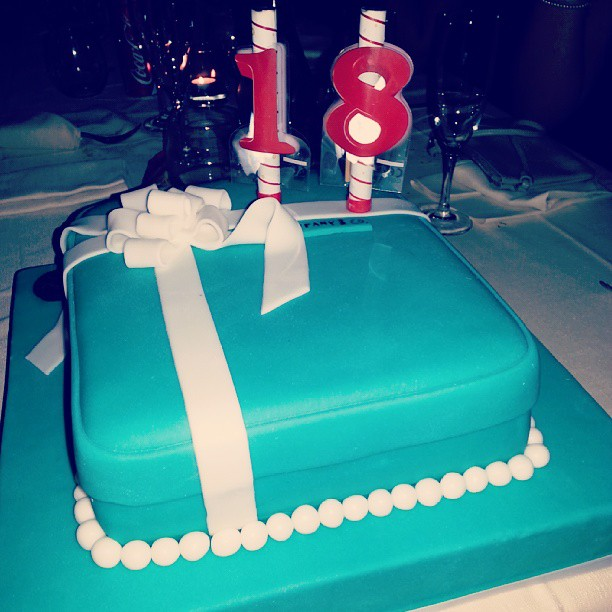 Favorito Torta tema Tiffany | cortipasticceria.it IC22